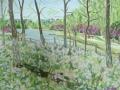April-2015-四月公园 Cunningham-50-x40-cm