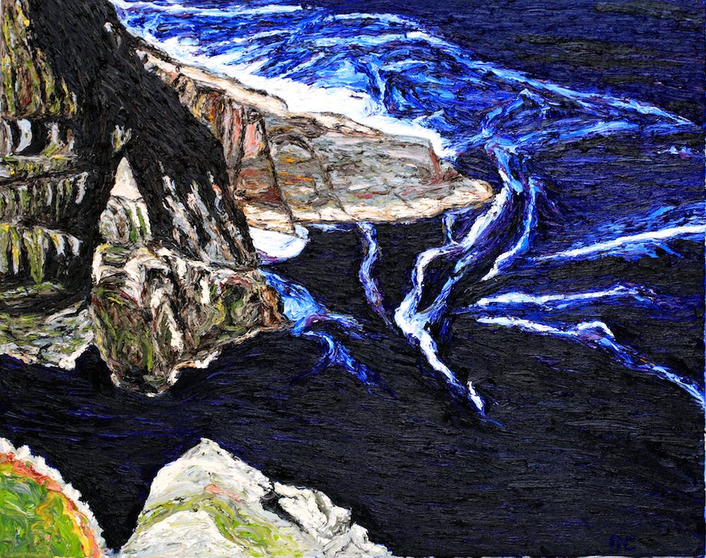 Kerry Sea Oil on Canvas Niamh Cunningham