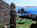 Skelligs Oil on Canvas (peaks) Niamh Cunningham