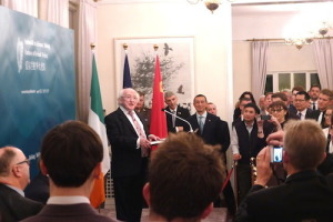 President's reception at Embassy