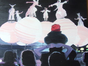*Electric Picnic 08  Arts and Music Fest 26 x 26cm