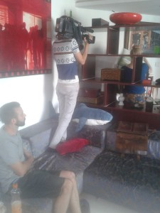 filming at home