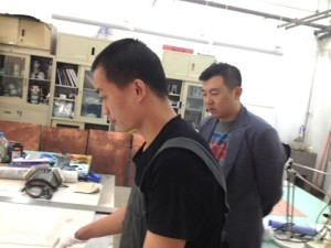 Gao Yang shows print collection copy