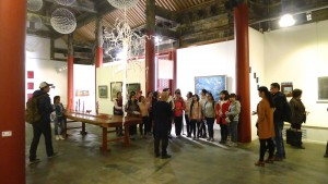 CWU students visit Meditation in a Time of War