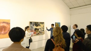 Irish Wave 2015 Guided Tour at Interart gallery Golden Fleece