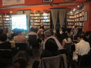 Half the sky Book talk at Bookworm Beijing