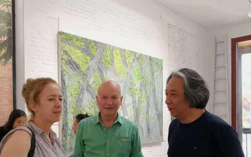 Brian Wallace , Lin Chunyan and Niamh Cunningham