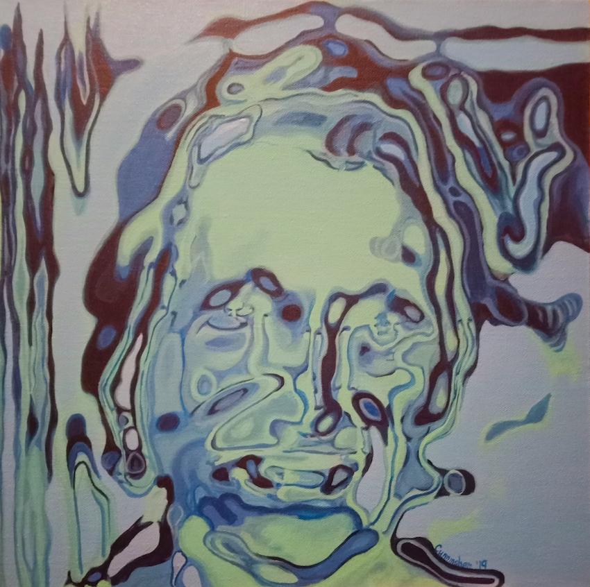 Mamo Greenfingers , 50x50 cm Niamh Cunningham