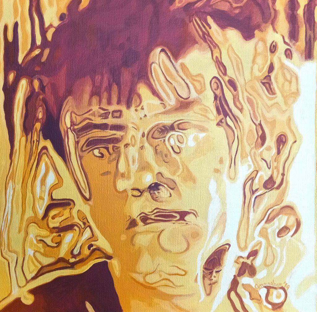 Busboy Portrait by Niamh Cunningham