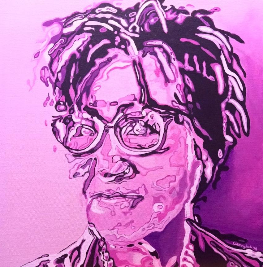 She . GZ portrait by Niamh Cunningham
